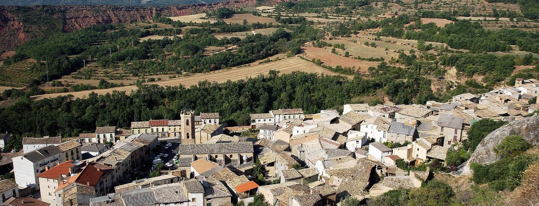 Vista de Arenys de Noguera